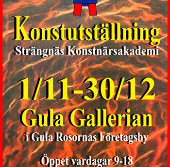 SKAK konstutställnig Gula Gallerian 2020